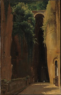 The Grotto of Posilipo, Naples