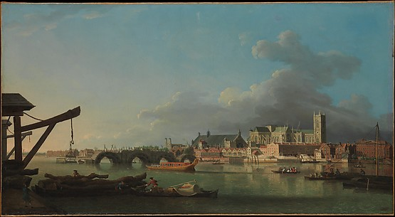 The Building of Westminster Bridge