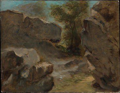 Landscape with Rocks, Augerville
