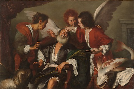Tobias Curing His Father's Blindness