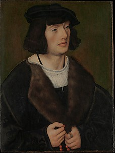 Portrait of a Man with a Rosary