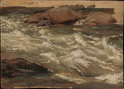 Study of Rushing Water