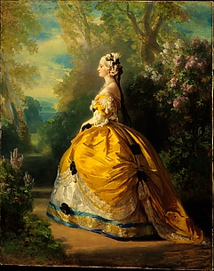 The Empress Eugnie (Eugnie de Montijo, 18261920, Condesa de Teba)