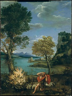 Landscape with Moses and the Burning Bush