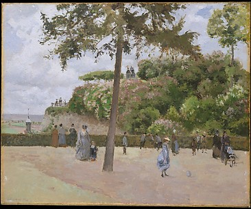 The Public Garden at Pontoise