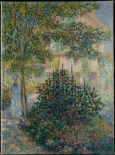 Camille Monet (18471879) in the Garden at Argenteuil