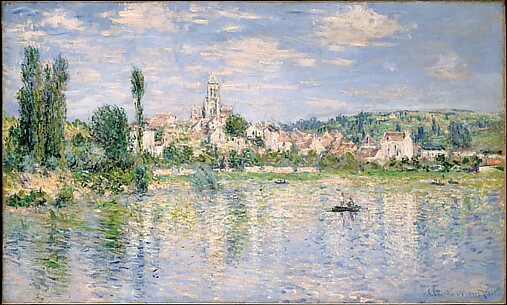 Vétheuil in Summer