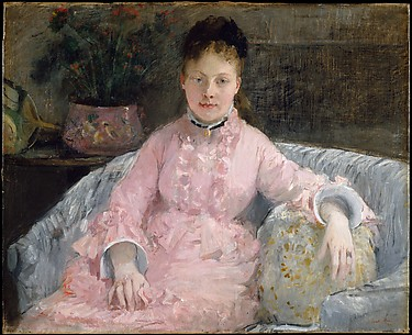The Pink Dress (Albertie-Marguerite Carr, later Madame Ferdinand-Henri Himmes, 18541935)