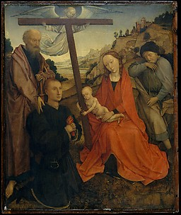 The Holy Family with Saint Paul and a Donor