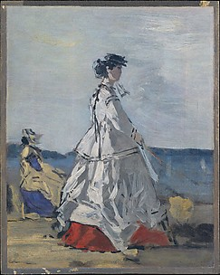 Princess Pauline Metternich (1836–1921) on the Beach