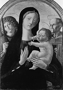 Madonna and Child with Saints Michael and Bernardino of Siena