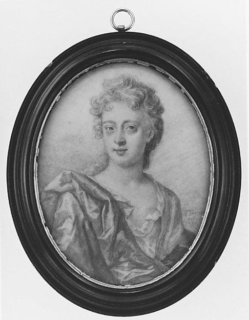 This is What Thomas Forster and Portrait of a Woman Looked Like  in 1701