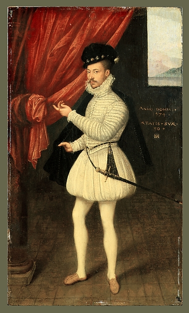Portrait of a Man in White