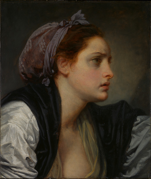 Study Head of a Woman