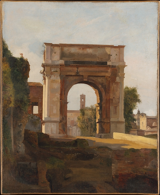 The Arch of Titus and the Forum, Rome