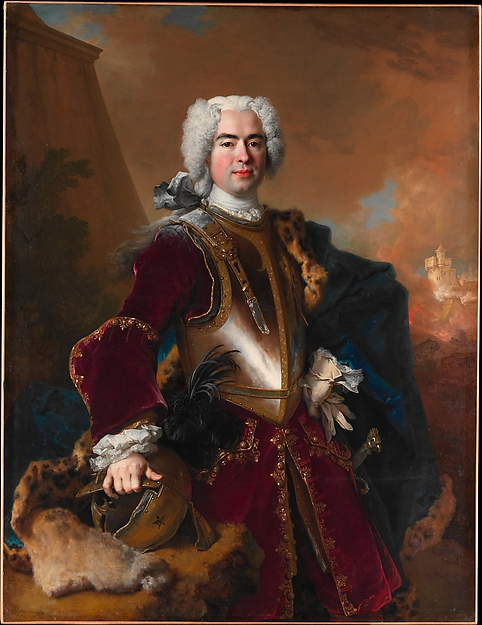 Fascinating Historical Picture of Nicolas de Largillierre with Andr Franois Alloys de Theys dHerculais (16921779) in 1727