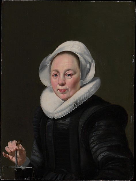 Portrait of a Woman with a Balance