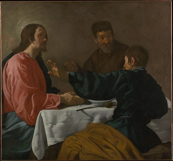 Fascinating Historical Picture of Velzquez with The Supper at Emmaus in 1622