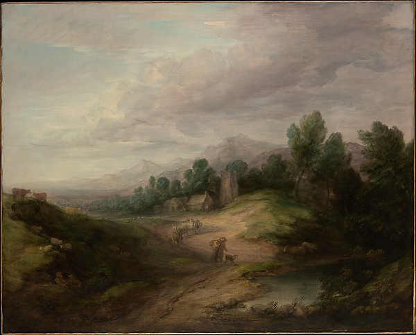 Wooded Upland Landscape