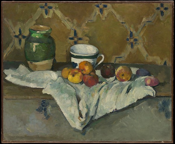 Still Life with Jar, Cup, and Apples