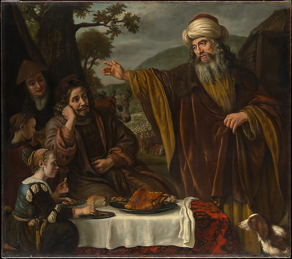 Abraham's Parting from the Family of Lot