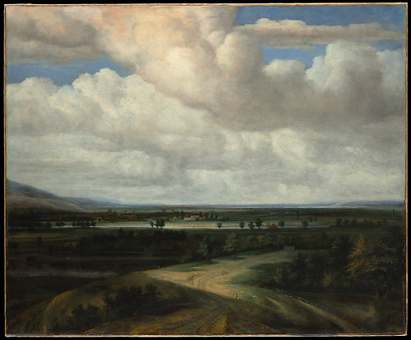 A Panoramic Landscape with a Country Estate