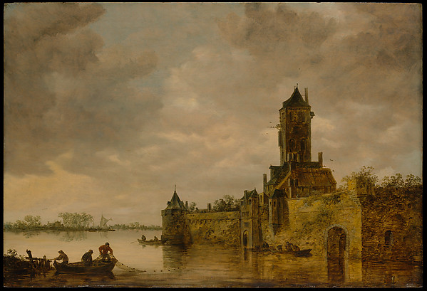 Castle by a River