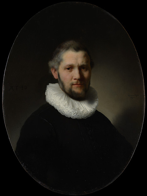 This is What Rembrandt and Portrait of a Man Looked Like  in 1632