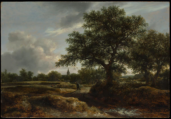 Landscape with a Village in the Distance