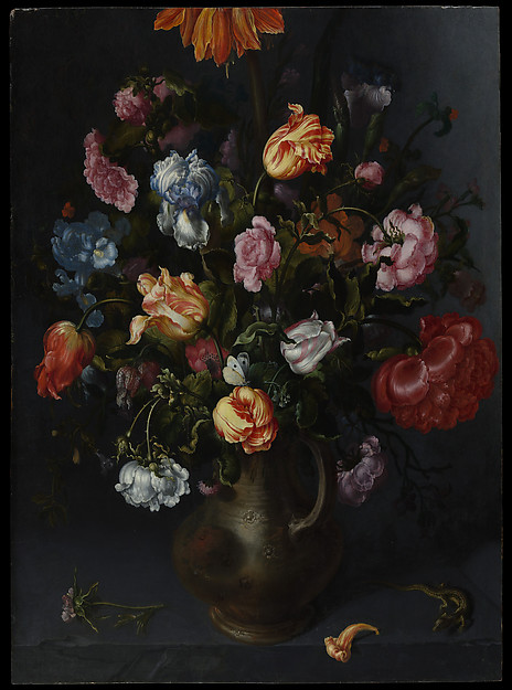 A Vase with Flowers
