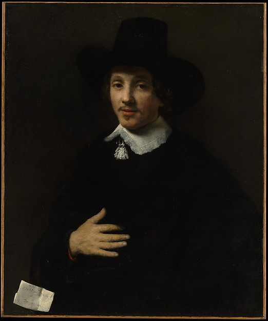 Portrait of a Man (Self-Portrait?)