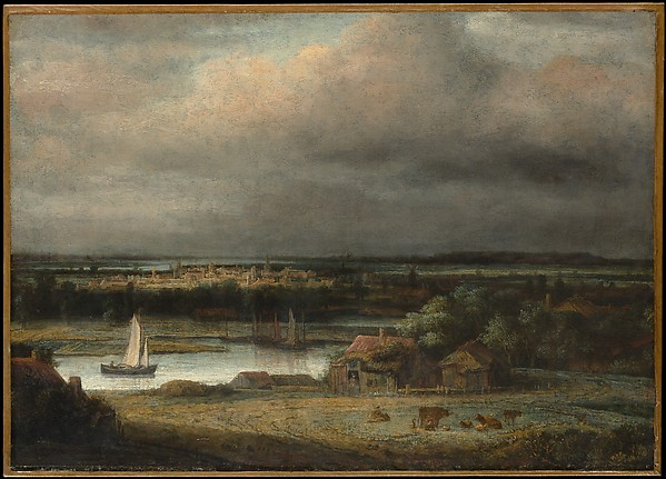 Wide River Landscape