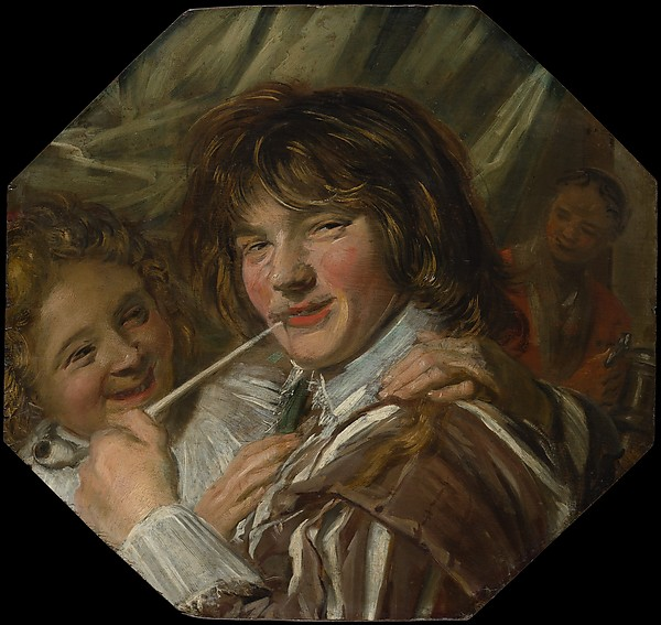 Fascinating Historical Picture of Frans Hals with The Smoker in 1623