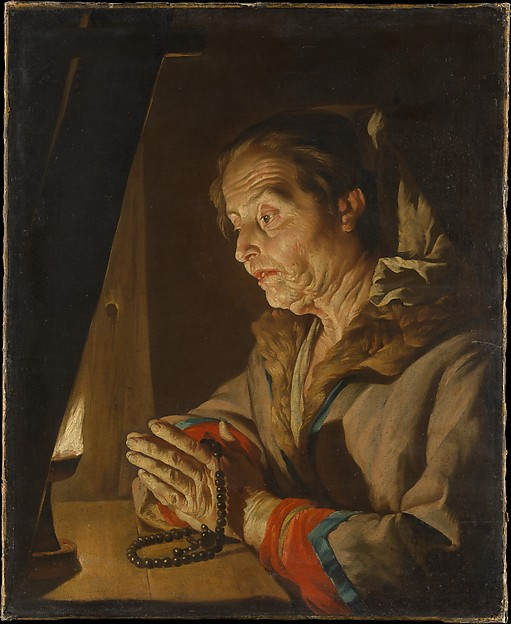 Old Woman Praying