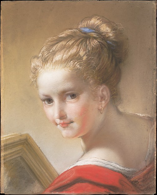 Study of a Girl in Red