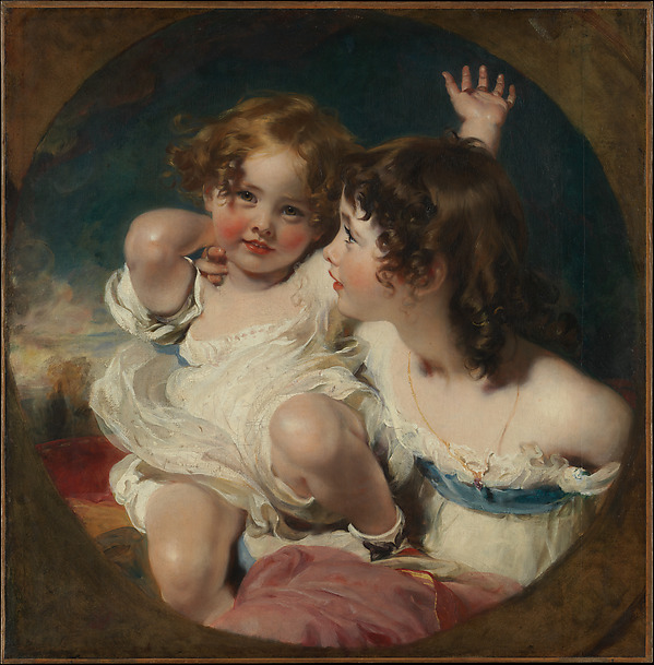 The Calmady Children (Emily, 1818–?1906, and Laura Anne, 1820–1894)