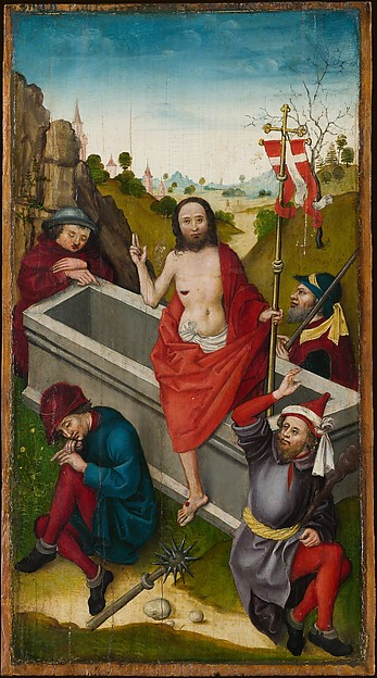 Christ before Pilate; The Resurrection