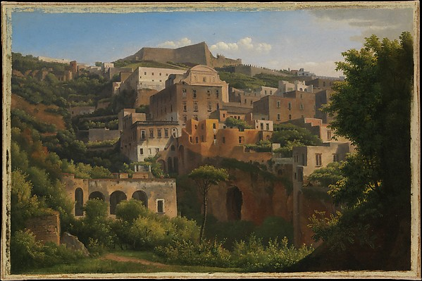 Castel Sant'Elmo from Chiaia, Naples