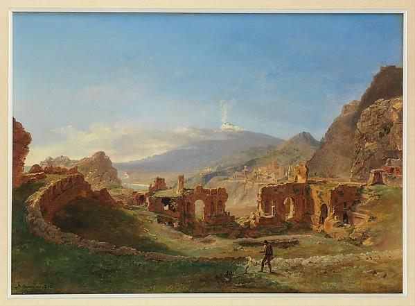The Roman Theater, Taormina
