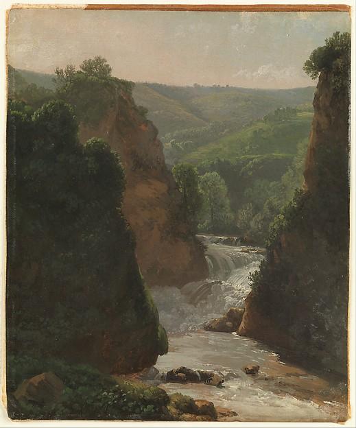 Aniene River at Tivoli