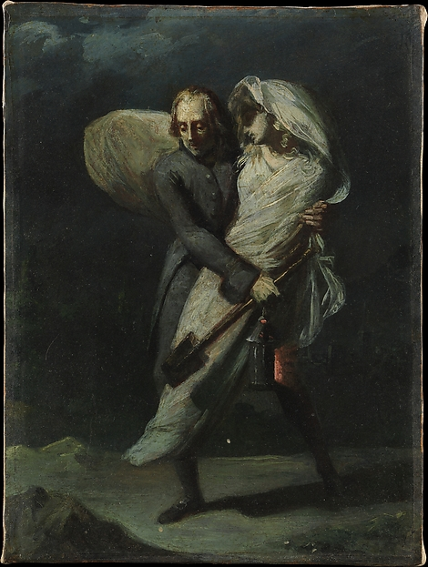 "Study for ""Young and His Daughter"""