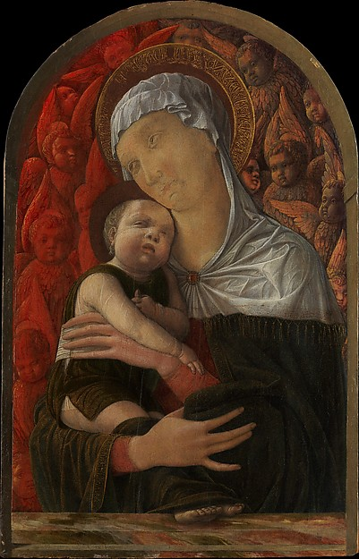 Madonna and Child with Seraphim and Cherubim