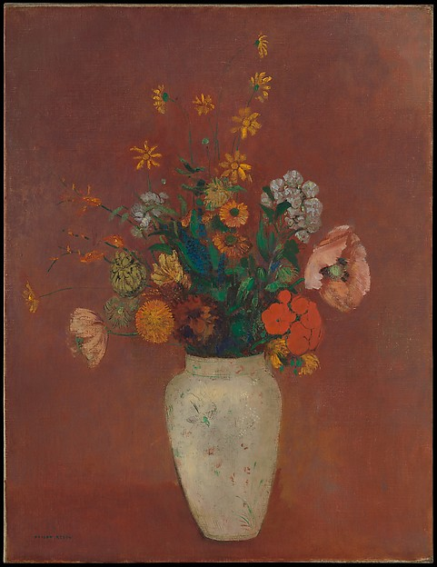 Bouquet in a Chinese Vase