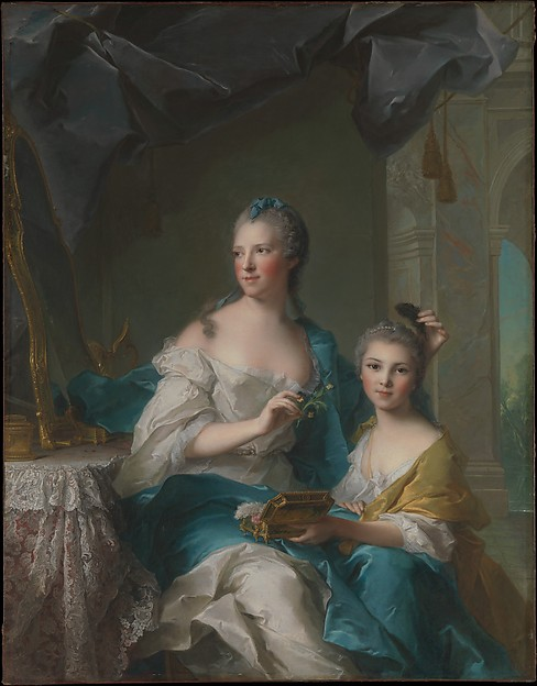 Madame Marsollier and Her Daughter