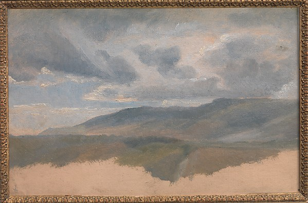 Landscape Study with Clouds