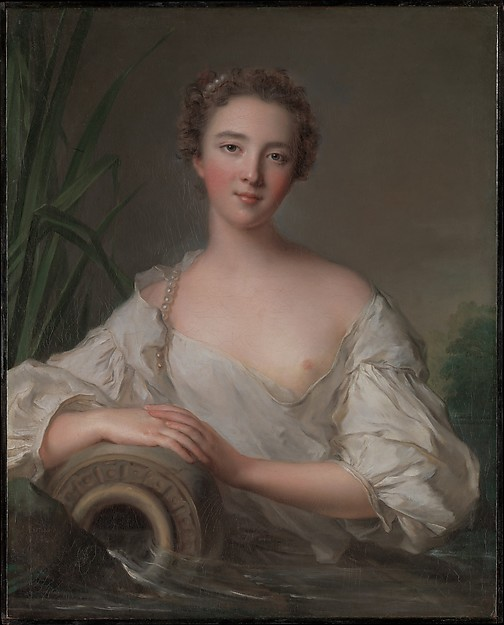 Portrait of a Young Woman, said to be Louise Henriette de Bourbon-Conti (1726–1759)