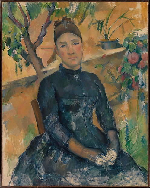 Madame Cézanne (Hortense Fiquet, 1850–1922) in the Conservator