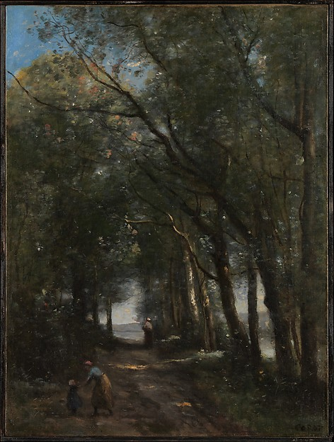 A Lane through the Trees