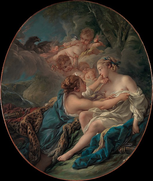 Jupiter, in the Guise of Diana, and Callisto