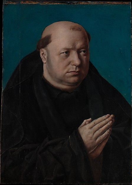 Portrait of a Monk in Prayer